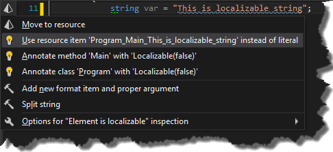 localizable string